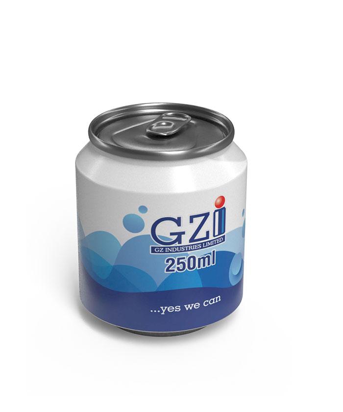 250ml-stubby GZI can