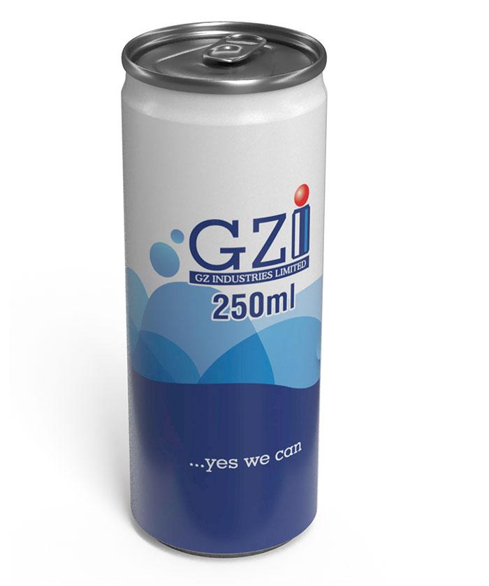 250ml GZI can