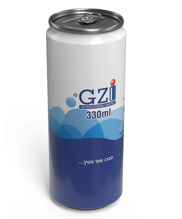 330ml sleek GZI can