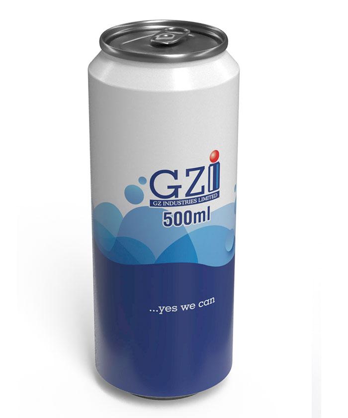 500ml GZI Can