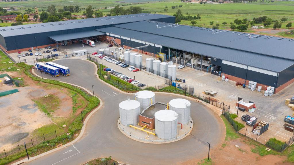 GZI Wadeville plant, SA